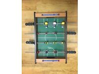 Mini Football/Foosball Table