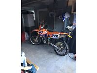 Awesome 2003 KTM 450 EXC