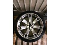 """Land Rover Range Rover Alloy Wheels 22 Inch With Tyres 22"""" Alloys"""