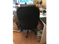 Sale of Popamazing Luxury Reclining Designer Executive Office Chair High Back Office Chair(Black)