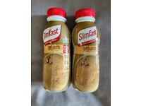 FREE 2 SlimFast Cafe Latte Flavour 325ml Shakes