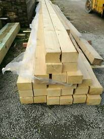 4 x 3 Planed Timber 5.4mtr Lengths
