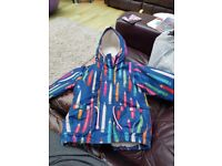 Cosy fully fleecy lined coat from Next age 2-3 excellent used condition