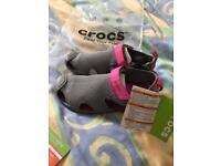 Crocs sandals brand new uk 8