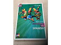 Bright Red Study Guide Nat 5 Spanish