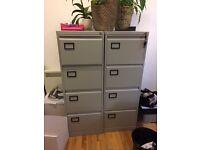2x filing cabinets (lockable)