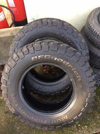 5 x Tyres £30 each.
