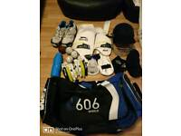 Adults Full cricket kit with extras
