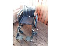 fold up wheel chair