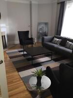STUNNING FURNISHED 2 Bedroom Suite!