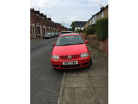 VW POLO 1.4 2001 5 DOOR, Only 55,000 Miles