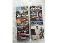 DVDs (x 4) - Top a Gear & Jeremy Clarkson Fans