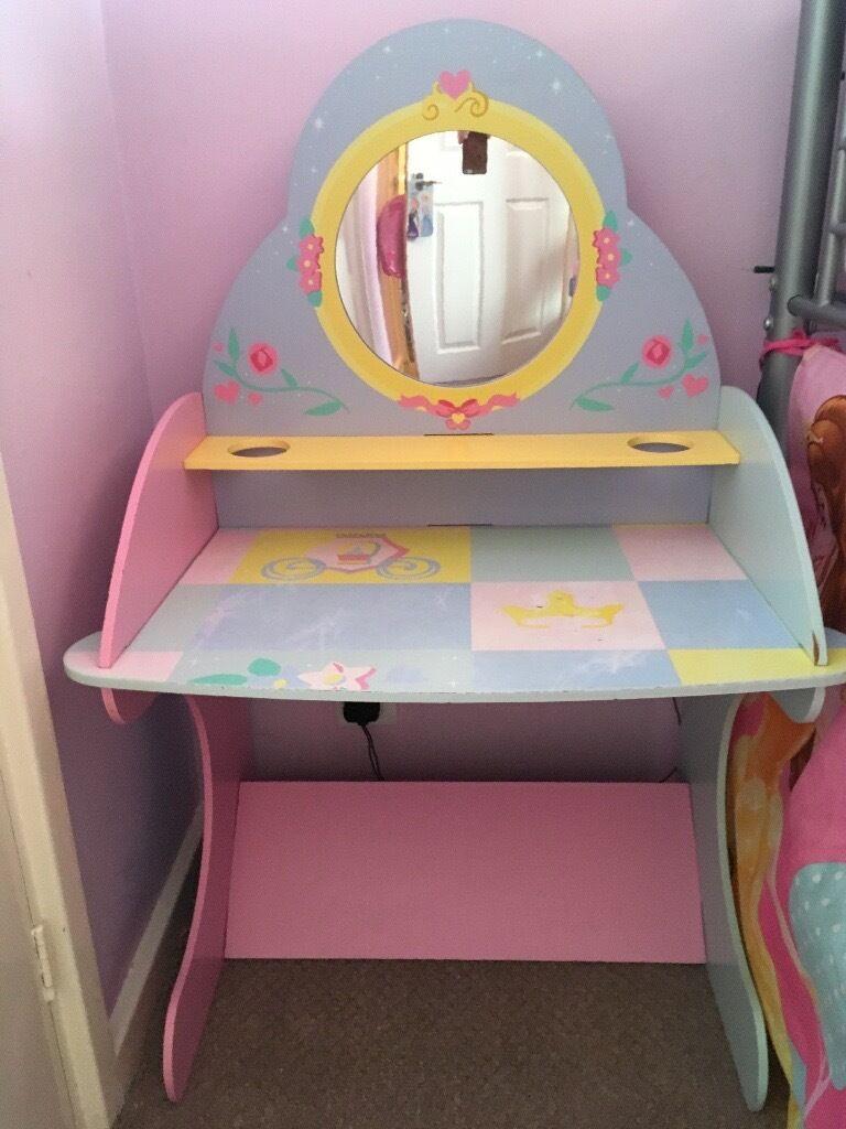 Disney Princess Vanity Table And Chair Set Disney