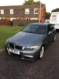 BMW 320d Msport in metallic grey