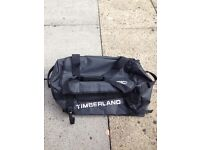 BLACK WATERPROOF TIMBERLAND HOLDALL