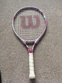 Girls Wilson tennis racket