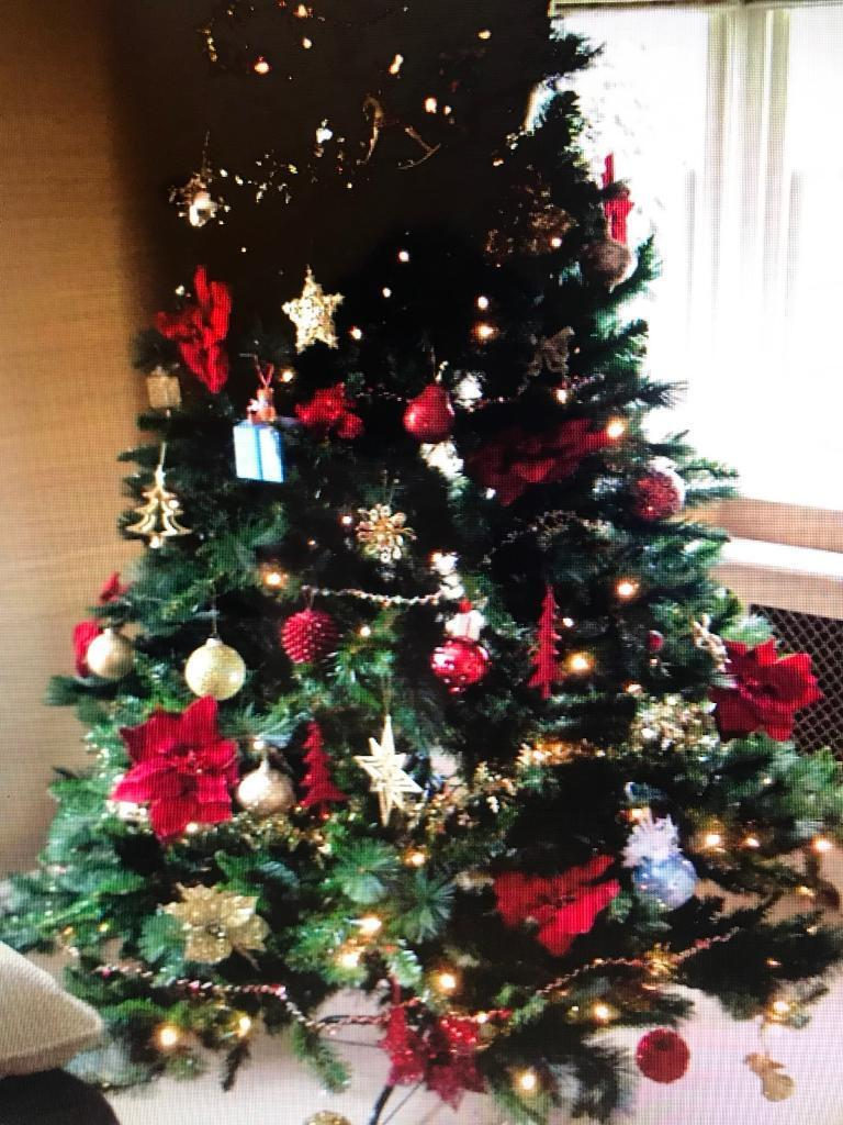 Garden Ridge Christmas Trees.Pre Lit 7ft Rocky Ridge Artificial Christmas Tree In Craiglockhart Edinburgh Gumtree