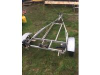 Boat trailer dingy tender rib