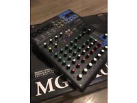 Yamaha MG10XU Analogue Mixer with SPX-10Channels