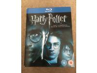 Harry Potter - complete 8 film collection on blu-ray