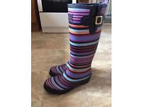Ladies joules Wellington boots, Wellies size 8