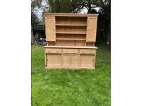 Victoria pine Welsh dresser