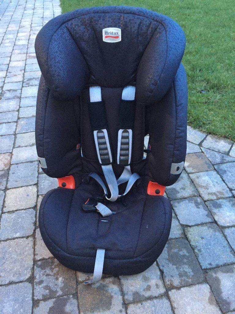 Britax Car Seat Evolva 1 2 3 Black Excellent Used Condition