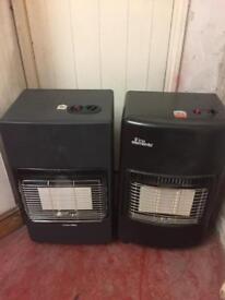 Calor gas heaters both got bottles.