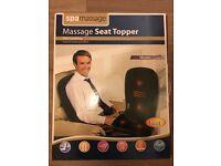 Massage heat topper seat