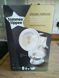 Manual Breast Pump, New