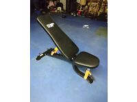 RRP £100 Mirafit fully adjustable heavy duty bench semi commercial