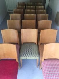 Cafe/Restaurant Chairs x 20