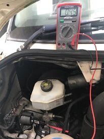 Mobile vehicle diagnostics, fault finding