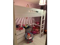 Kids high sleeper bed