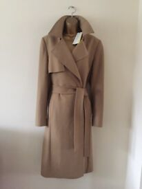 (SOLD) Karen Millen Full length Coat Size 14 (brand new, still tagged)