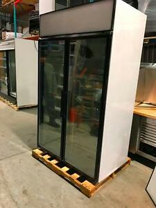 """COLDSTREAM"" Congelateur Deux Portes Vitree / Freezer 2 Glass Doors"