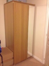 Ikea Wardrobe PAX with mirror