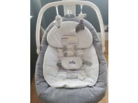 Joie 2in1 Hip Hop Serina Baby Swivel Swing (6 Speed Swing with Music & Vibrations) RRP £150