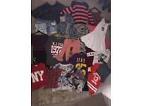 Women's bundles of clothes