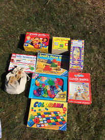 9 x Childrens Puzzles and Games 4-8 years