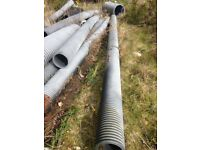 ribbed underground pipe 6m long