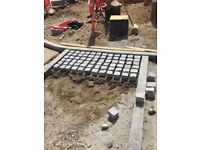 Paving , slabbing , drainage or any aspect of groundwork