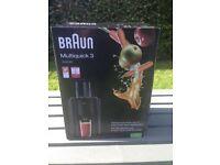 Juicer Braun multiquick 3