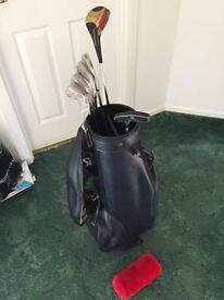 Half set of ladies golf clubs