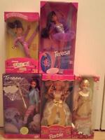 Assorted Barbies and Friends