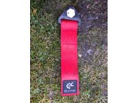 Free Red tow strap racing belt