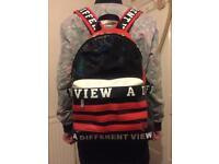 a fashion backpack