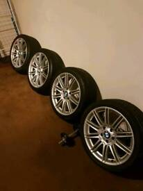 Bmw mv4 Alloy wheels 5x120 fits renault trafic vivaro primestar