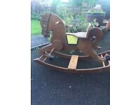 1964 Rocking wooden horse from Liberty