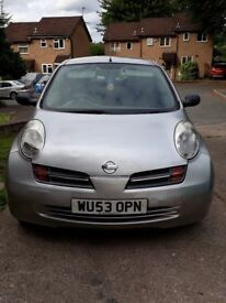 Nissan micra sport(2 owners from new)6mths m.o.t.